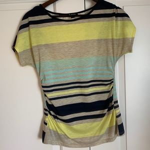 Striped fitted A. Byer shirt